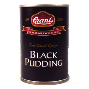 GRANTS BLACK PUDDING TIN 286G