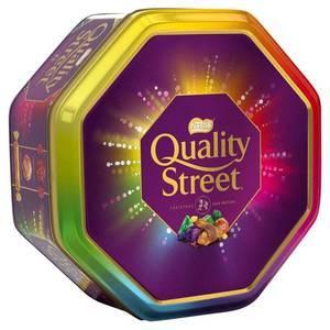 QUALITY STREET TIN 1KG