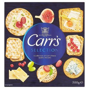 CARR'S SELECTION BOX 500G