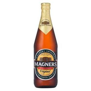 MAGNERS IRISH CIDER BOTTLE 568ML