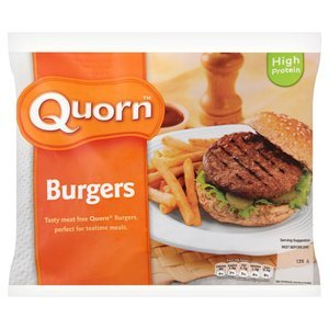 QUORN BURGERS (6) best by 09/2018