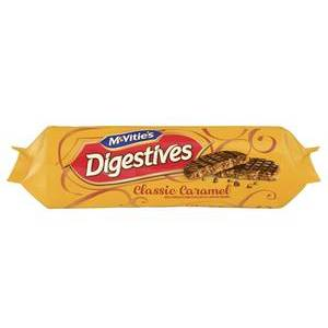 MCVITIES CHOCOLATE DIGESTIVE CARAMEL 267G