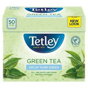 TETLEY GREEN DECAF TEA 50S