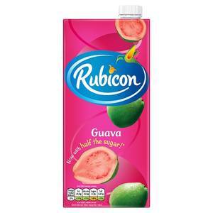 RUBICON GUAVA JUICE 1L best by 09/2020
