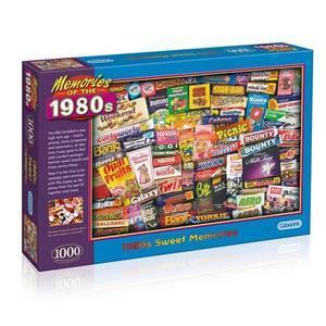 GIBSONS 1980S SWEET MEMORIES 1000 PIECE PUZZLE