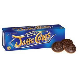 MCVITIE'S JAFFA CAKES 12 TORTINE ALL'ARANCIA