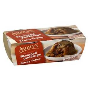 AUNTYS STICKY TOFFEE PUDDING (2 X 100G)
