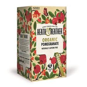 HEATH & HEATHER ORGANIC ECHINACEA AND CRANBERRY TEA 20S