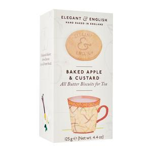 ARTISAN BISCUITS BAKED APPLE & CUSTARD 125G