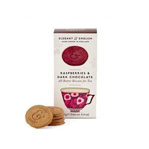 ARTISAN BISCUITS CHOCOLATE AND RASPBERRY 125G
