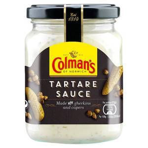 COLMANS TARTAR SAUCE JR 144G best by 12/2020