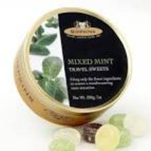SIMPKINS BRITISH BOBBY TRAVEL SWEETS MIXED MINTS 200G