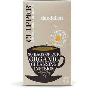 CLIPPER DANDELION HERBAL TEA 20S best by 01/04/2021