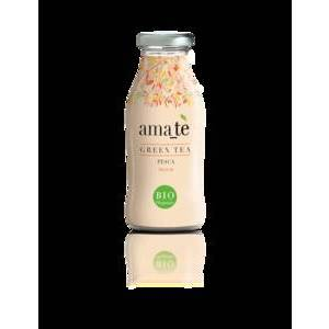 AMATE GREEN TEA W/ PEACH 250ml