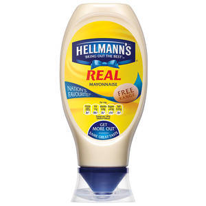 HELLMANN'S SQUEEZY MAYONAISE 430ML