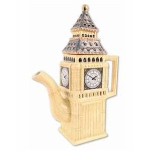 BIG BEN TEA POT AND TEA CUP