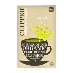 CLIPPER FENNEL TEA 20S