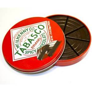 CHRISTMAS - TABASCO & DARK CHOCOLATE TIN