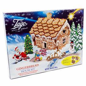 CHRISTMAS - TAGO GINGERBREAD HOUSE KIT 560G
