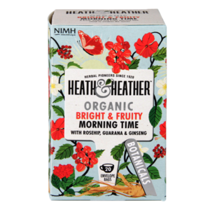 HEATH & HEATHER ORGANIC MORNING TIME 20S