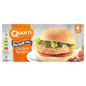 QUORN SOUTHERN FRIED BURGERS (4) best by 10/2019