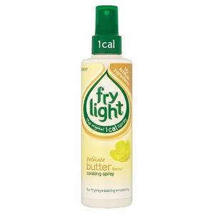 FRYLIGHT BUTTER FLAVOURED SPRAY 190ML