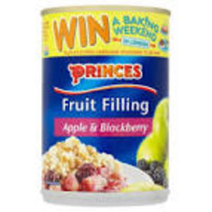 PRINCES APPLE AND BLACKBERRY FILLING 395G best by 11/2018