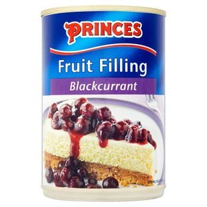 PRINCES BLACKCURRANT FILLING 410G best by 02/2019