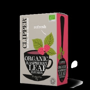 CLIPPER RASPBERRY LEAF TEABAGS 20S