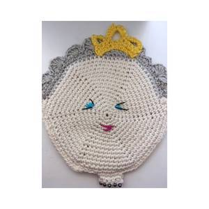 QUEEN ELIZABETH POT HOLDER