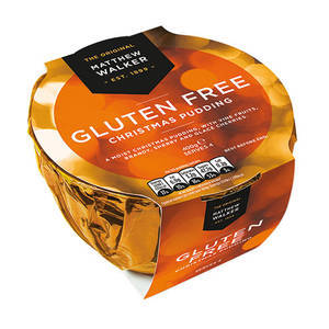 CHRISTMAS - MATTHEW WALKER GLUTEN FREE PUDDING 100G