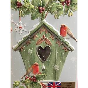CHRISTMAS - GRANDMA WILD'S BIRD HOUSE TIN 400G