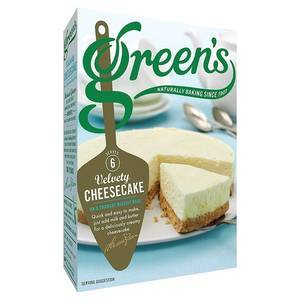 GREEN'S MIX PER CHEESECAKE VELLUTATO 221G