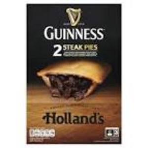 HOLLAND'S STEAK&GUINNESS PIES (2PK)