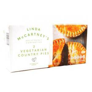 LINDA MCCARTNEY MEAT FREE COUNTRY PIES 380G