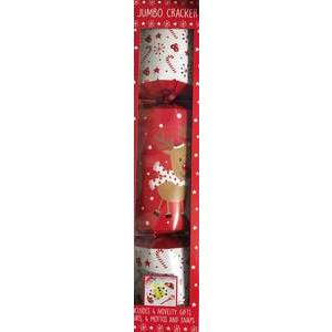 JUMBO CHRISTMAS CRACKER REINDEER