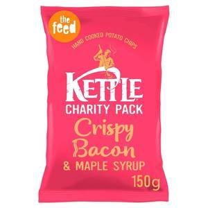 KETTLE CHIPS BACON & MAPLE 150G