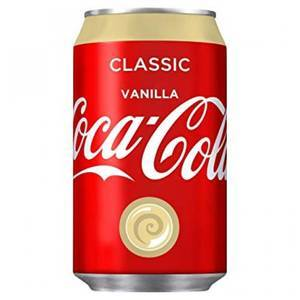 COCA COLA VANILLA 330ML