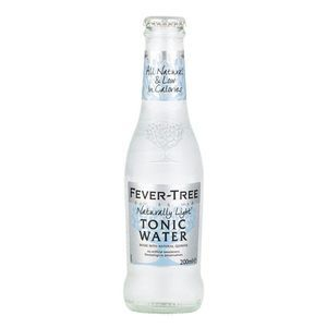 FEVER TREE NATURALLY LIGHT TONIC WATER  200ML