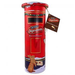 CHRISTMAS - MCVITIE'S POST BOX BISCUIT TIN 400G