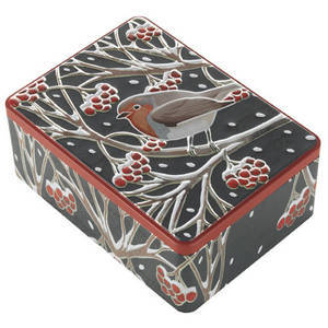 FARMHOUSE BISCUITS ROBIN TIN 400G
