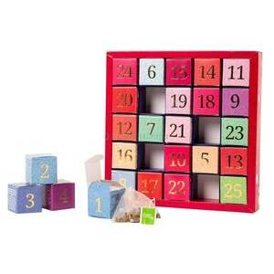 CHRISTMAS - ENGLISH TEA SHOP TEA ADVENT CALENDAR NUMBERS
