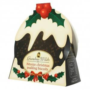 CHRISTMAS - GRANDMA WILD'S XMAS PUDDING BISCUITS 150G