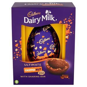 EASTER - CADBURY FRUIT & NUT LUXURY EGG 560G