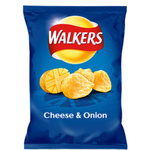 WALKERS CHEESE & ONION 80G