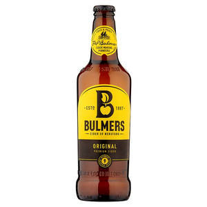 BULMERS ORIGINAL CIDER 56.8 CL best by 30/09/2020