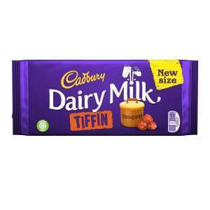 CADBURY DAIRY MILK TIFFIN 200G best by 25/06/2019