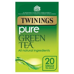 TWININGS GREEN TEA 20S