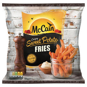 MCCAIN SWEET POTATO FIRES 500g