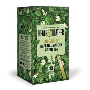 HEATH & HEATHER ORGANIC MATCHA GREEN TEA 20S
